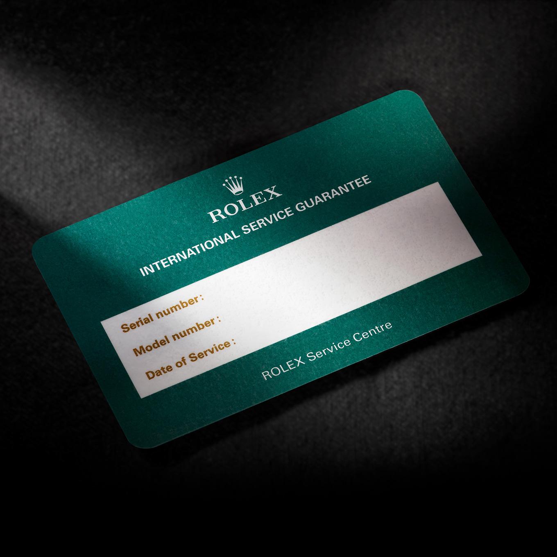 Servicing your Rolex procedure